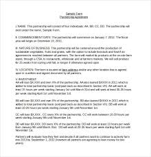 Investment Agreement Templates Restaurant Partnership Agreement Template 10 Restaurant Investment