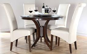 ivory round table dining table sets somerset round dark wood dining table and 4 chairs set ivory velvet table runner