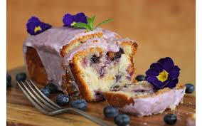 Vegan Blueberry Lemon Drizzle Cake Vrc Veganrecipecluborguk