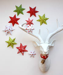 Wall Xmas Decorations 16 Effortless Paper Christmas Decorations The Paper Blog