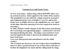 law essay canadian law essay