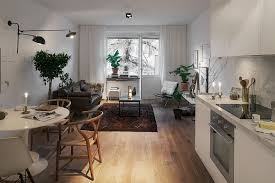 Stylish 420 Square Foot Small Apartment With Modern Scandinavian ...