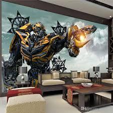 transformers blebee wall mural large wall art photo wallpaper designer wall stickers children s room bedroom custom