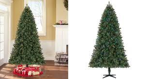 Pre Lit Spruce Christmas Tree