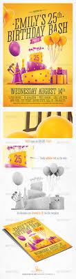 Birthday Invitation Flyer Template Birthday Party Invitation Flyer By Saltshaker24 GraphicRiver 9