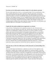Unit 2 Homework Organizational Development.doc - Unit 2 Homework LaKeisha  Morton ECP-5705-2 Organizational Development Instructor Frann Kelley  Rodriguez | Course Hero