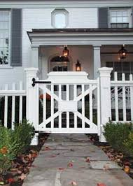 Picket Fence Plans Designs to build this picket fence design