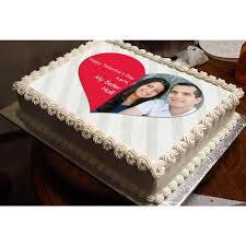 My Better Half Personalized Photo Cake