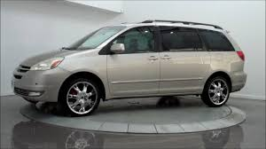 2004 Toyota Sienna XLE Limited AWD - YouTube