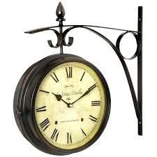 outdoor clock on stand outdoor clocks on stands clock a stand with best two sided outdoor outdoor clock