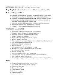 ... warehouse job resume large size. Roles And Responsibilities .