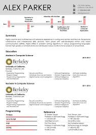 Timeline Docx Student Resume Template