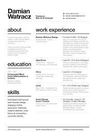 Best ui designer resume