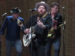 Nathaniel Rateliff & the Night Sweats (Farm Aid 2016) - Nathaniel David  Rateliff, Joseph Pope III, Patrick Meese, Luke Mossman, Mark Shusterman, Wesley  Watkins & Andreas Wild - a photo on Flickriver
