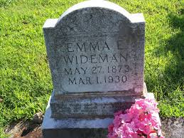 Emma Ellen Girardier Wideman (1873-1930) - Find A Grave Memorial
