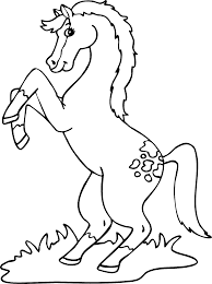 Hugo L Escargot Coloriage Cheval