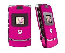 motorola flip phone pink. brand new motorola razr v3 pink unlocked motorola flip phone pink h