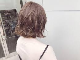 ナチュラル ボブヘアー ボブ パーマlano By Hair ボブ切りっぱなし