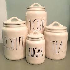 flour canister set canister set flour sugar coffee tea bmhmarketsclub inside rustic kitchen canisters