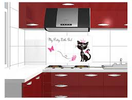 Mural Tiles For Kitchen Decor Pretty Cat Kitchen Decor Decoration Oil Proof High temperature 31