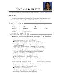 Real Resume Samples Real Cv Examples Resume Samples Visual Cv Free Samples Database Best 16