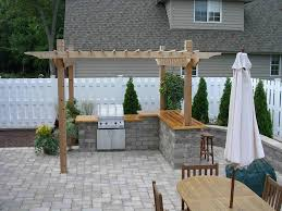 pergola kitchen. brilliant outdoor kitchens pergola in silver spring and ideas kitchen under full size i
