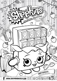 Free Shopkin Coloring Pages At Getdrawingscom Free For Personal