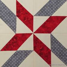 28 best Neighborhood Quilt Club Posts images on Pinterest | Half ... & Neighborhood Quilt Club: Windy Days – Quilt Block Tutorial using  parallelogram units instead of half Adamdwight.com