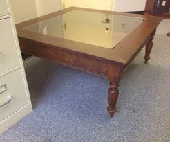 full size of modern coffee tables glass top display case coffee tables large table iron