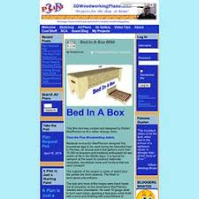 bed in a box plans. Bed-In-A-Box #098 : 3D Woodworking Plans Bed In A Box F