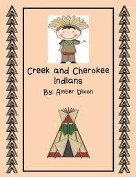 Creek And Cherokee Venn Diagram Creek And Cherokee Social Studies Unit Social Studies