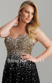 Black And Gold Prom Dresses Plus Size Naf Dresses