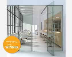 crl arch glass entrance doors