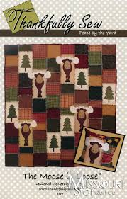 Best 25+ Moose quilt ideas on Pinterest | Forest crib bedding ... & The Moose is Loose Pattern from Missouri Star Quilt Co Adamdwight.com