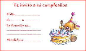 Invitaciones De Cumpleanos 5