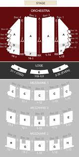 Paramount Theatre Seattle Wa Seating Chart Stage