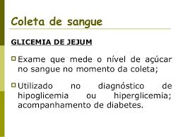 exame para detectar diabetes