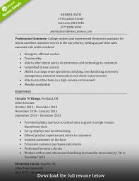 Bistrun : Fresh Merchandise Manager Resume Objective Retail ...