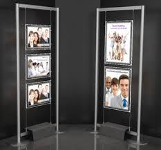 Led Light Box Display Stand Crystal LED Super Slim Light box LED Light Pocket Exhibition 1