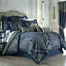 kohls comforters sets queen comforter king size bedding set blue gold damask