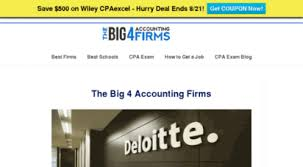 Welcome To Big4accountingfirms Org The Big 4 Accounting Firms