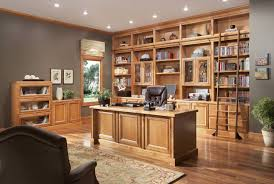 custom home design ideas. merillat cabinets for home office with gray wall and wooden floor ideas custom design