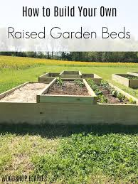 build your own diy raised garden bed