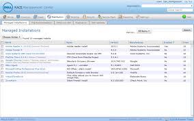 Dell Integriert Software Asset Management In Kace 1000 Appliance