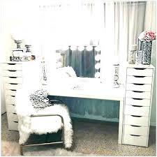 white vanity desk with mirror – minutesofmayhem.com