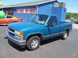 1995 Light Quasar Blue Metallic Chevrolet C/K C1500 Regular Cab ...
