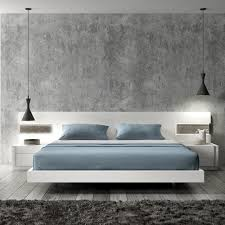 modern minimalist bedroom furniture. CADO Modern Furniture - AMORA Bed Minimalist Bedroom H