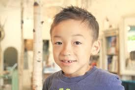 ソフトモヒカン 子供の髪型 男の子 豊中市桃山台の美容室ネイル