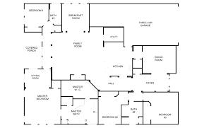 5 bedroom house plans one story with single 3 bath modular home floor