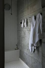 concrete tiles bathroom hill home with cast concrete shower wall by designs concrete bathroom tiles australia